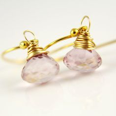 Wedding Earrings Valentines Day Gift by anatoliantaledesign, $32.00
