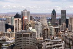 The Chalet du Mont Royal and Kondiaronk Belvedere - Montreal For 91 Days Montreal Travel, San Francisco Skyline, New York Skyline, Skyscraper, Multi Story Building, Attraction, Skyscrapers
