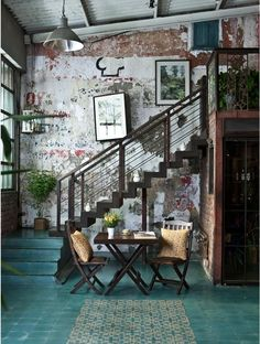 Home House Interior Decorating Design Dwell Furniture Decor Fashion Antique Vintage Modern Contemporary Art Loft Real Estate NYC London Paris Architecture Furniture Inspiration New York YYC YYCRE Calgary Eames StreetArt Building Branding Iden Interior Exterior, Home Interior Design, Interior Architecture, Interior Decorating, Decorating Ideas, Interior Ideas, Brick Interior, Vintage Interior Design, Studio Interior