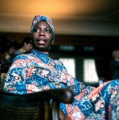 """I made wine from the lilac tree, put my heart in its recipe, it makes me see what I want to see, and be what I want to be.""  - Nina Simone, 1968."