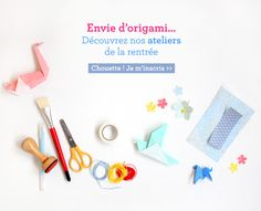 Créations Adeline Klam - Ateliers origami