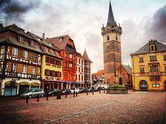 Obernai- France Fransa Travel Alsace Lorraine #travel Village