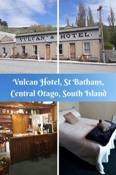 The haunted Vulcan Hotel, St Bathans, Central Otago, New Zealand. New Zealand Hotels, New Zealand Travel, Central Otago, New Zealand South Island, State Of Arizona, Ghost Hunters, South Pacific, Amazing Destinations, The Good Place