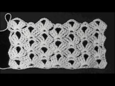 Ажурный узор для кардигана - YouTube Crochet Shawl, Free Crochet, Crochet For Boys, Crochet Cardigan, Crochet Granny, Crochet Squares, Crochet Doilies, Crochet Top, Crochet Stitches Patterns