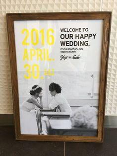 夫手作り!前撮り写真のウェルカムボード Wedding Paper, Wedding Cards, Diy Wedding, Wedding Ideas, Wedding Invitation Design, Wedding Stationery, Wedding Images, Wedding Designs, Comic Wedding
