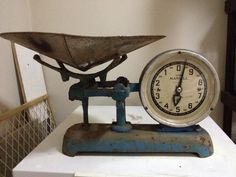 Vintage Scale - I would use it to put bananas in