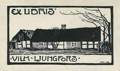 Bookplate for Vilhelm Ljungfors
