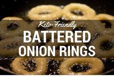 If you read our post about low-carb dips and accompaniments a short while back, then you may have seen mentioned an upcoming recipe for keto-friendly battered onion rings. Well, today you're …