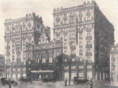 Lo que fue del Teatro Fontalba, lo que será del Edificio España