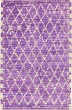 $349. Purple 152cm x 245cm Aqua Rug | Area Rugs | AU Rugs