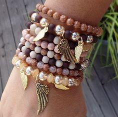 Summer beaded bracelet