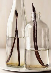It's easy to make your own vanilla extract. Submerge whole beans in good-quality vodka; in two weeks, you'll have a fragrant elixir that will grow stronger with time and last for years.