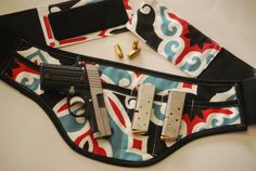 Concealed carry holster for women by SlightlyBefuddled on Etsy