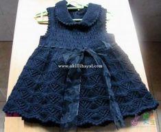Kurdeleli bebek elbisesi modeli yapılışı (anlatımlı)
