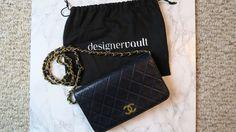 5f689b0646de73 Vintage Chanel Lambskin Single Flap Wallet On Chain Gold Hardware Shoulder  Bag Chanel Price, Chanel