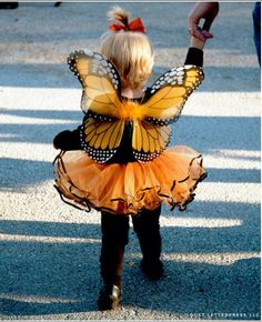 Beautiful!  Little Human Butterfly!