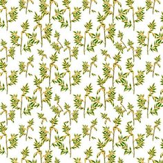 Soft green and gold leaves custom fabric by andso for sale on Spoonflower Different Fabrics, Large Prints, Gold Leaf, Green And Gold, Custom Fabric, Spoonflower, Fabric Design, Branding Design, Craft Projects