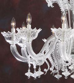 chandeliers | Murano glass chandelier handcrafted in Italy