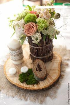 Купить Оформление свадьбы. Эко-стиль. - свадьба, оформление свадьбы, оформление зала, оформление праздника