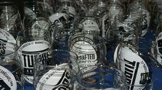 Beer sampling glasses, TUPPs style.