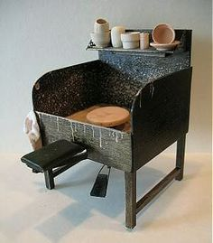 miniature potters wheel! by Deb Jackson Designs