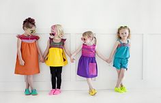 Loving these stylish bright clothes for the little girls! STYLO *4: Freshly Picked Giveaway
