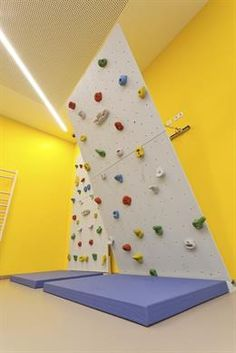 Padded Gym Wall Exercise Golf Room Pinterest Gym