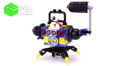LEGO Mixels 41580 Series 9 Newzers Myke - 4K LEGO Speed Build #lego #mixels #brickspeedbuilds