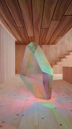 Architecture Ideas The beauty of iridescent minerals and modern architecture finding each other in a non-narrative series.Through this phenomenon, minimalism witnesses the journey of light.Moving still portrait for Electric Objects. Fabrication Metal, Light Installation, Art Installations, Psychedelic Art, Light Art, Public Art, Oeuvre D'art, Modern Architecture, Sculpture Art