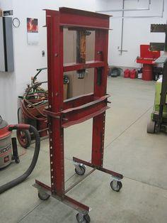 Is it OK to mount caster wheels on a 20 tom press. - The Garage Journal Board
