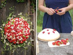 Find out how to make this fabulous Strawberry Shortcake for a BBQ rehearsal dinner...