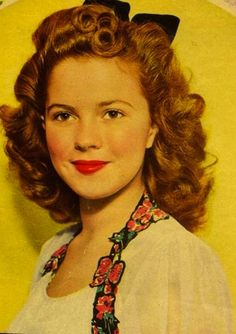 Shirley Temple She remind me of my aunt. my granddaughter with her beautiful curls, my cousin's I just love her!