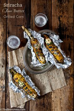 Sriracha Beer Butter Grilled Corn | The Beeroness