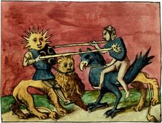 Jousting beasts