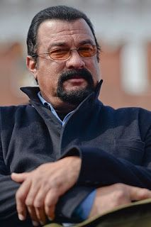 Russian President Vladimir Putin Grants Steven Seagal Citizenship Over the last few years the Hollywood actor has had friendly relations with the Kremlin.
