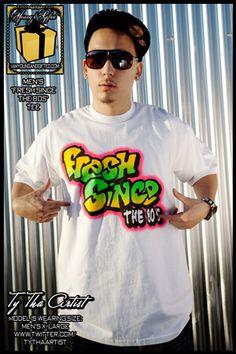 Fresh Prince style t-shirt - Hip Hop Tee