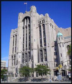 Masonic Temple (Ritual Building)--Detroit MI