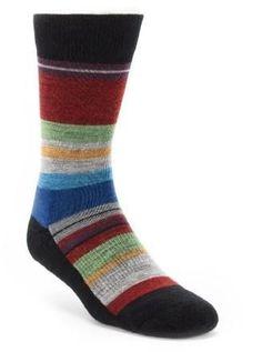 Women's Striped SmartWool socks