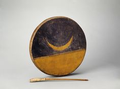 Native American (Sioux) | |Maker: Thunder Elk: April 17, 1904 | Paint, sinew | Depth of frame. 5 cm. (2 in.); Diam. 35.5 cm. (14 in.)