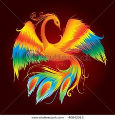 Known to be a symbol of rising from the ashes, sporting a Phoenix tattoo is akin to regeneration of sorts. Have a look at some of the phoenix tattoo designs given in this ThoughtfulTattoos article for ideas. Phoenix Bird Tattoos, Phoenix Tattoo Design, Love Tattoos, Tattoos For Guys, Tatoos, Bird Tattoo Men, Phoenix Art, Phoenix Rising, Hummingbird Tattoo