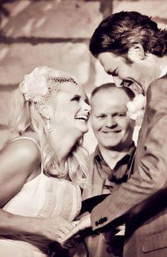 Blake and Miranda's wedding