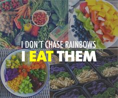 Have fun with your food! Here are 11 ways to make your meals brighter and more colorful. #MealPrepMonday #mealprep #healthyeating #healthyfoods #eathealthy #eatclean #nutrition #nutritiontips #eattherainbow