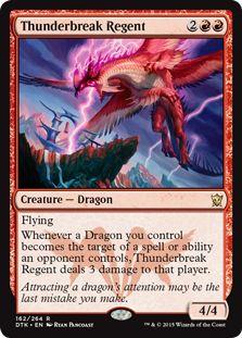 Free Post Iconic Masters MTG Dragon Tempest