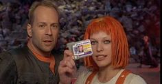 Willis and Jojovich in the Fifth Element