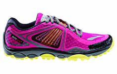 Brooks Pure Grit 3, minimalist trail runner.  Must have in blue!