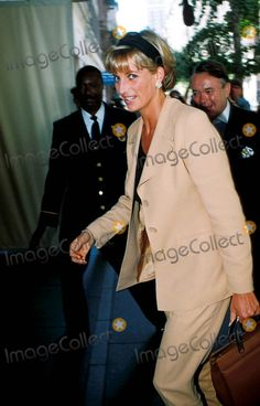 June 23, 1997: Diana, Princess of Wales in New York City for the Christies' Auction. Photo by: Dave Chancellor-alpha-Globe Photos Inc