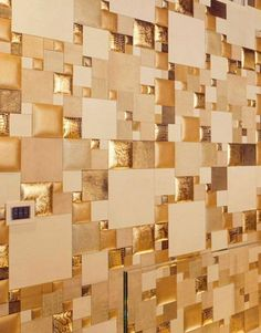 Leather wall tiles and decorative wall paneling made of leather are trendy and the most luxurious materials for modern wall designs Unique Wall Decor, Home Wall Decor, Cheap Home Decor, Wood Panel Walls, Wood Paneling, Paneling Ideas, Panelling, Leather Wall Panels, Decorative Wall Panels