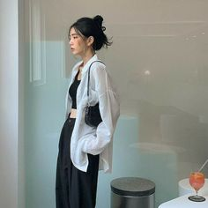 Ulzzang Fashion, Kpop Fashion, Fashion Outfits, Womens Fashion, Muslim Fashion, Korean Street Fashion, Asian Fashion, Korean Girl Fashion, Teen Girl Fashion