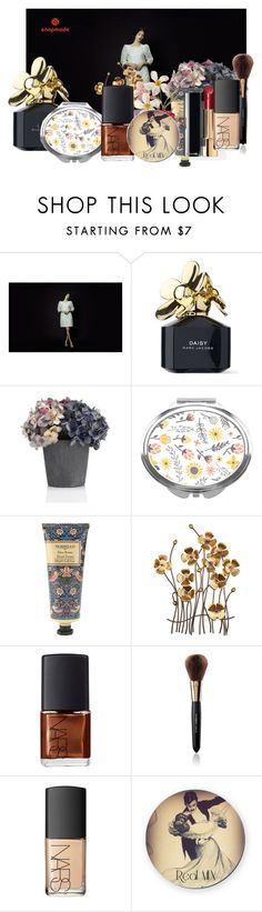 """Snapmade I/5"" by ragazzinabella ❤ liked on Polyvore featuring beauty, Marc Jacobs, William Morris, Chanel, NARS Cosmetics, Dolce&Gabbana, Flowers, marcjacobs and NARS"