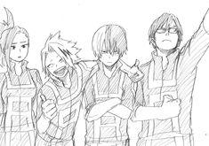 My hero Academia Boku No Hero Academia, My Hero Academia Memes, Hero Academia Characters, My Hero Academia Manga, Hiro Big Hero 6, Bakugou Manga, Dibujos Cute, Fan Art, Anime Sketch